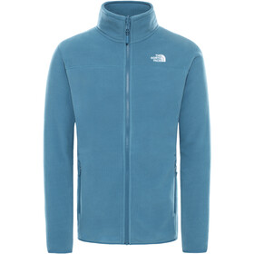 The North Face 100 Glacier Jack Doorlopende Rits Heren, mallard blue